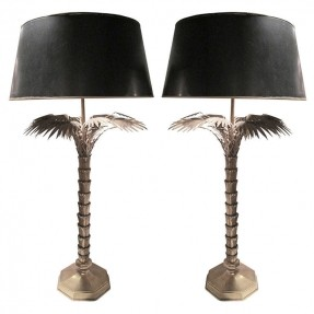 palm tree table lamps photo - 4