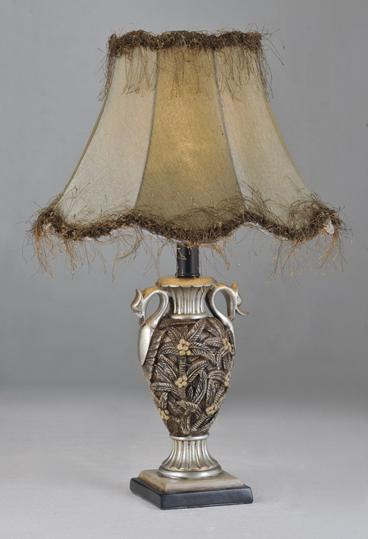palm tree table lamps photo - 6