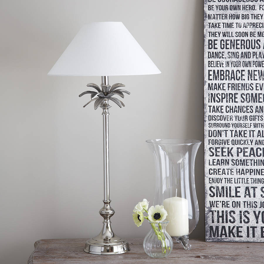 palm tree table lamps photo - 7