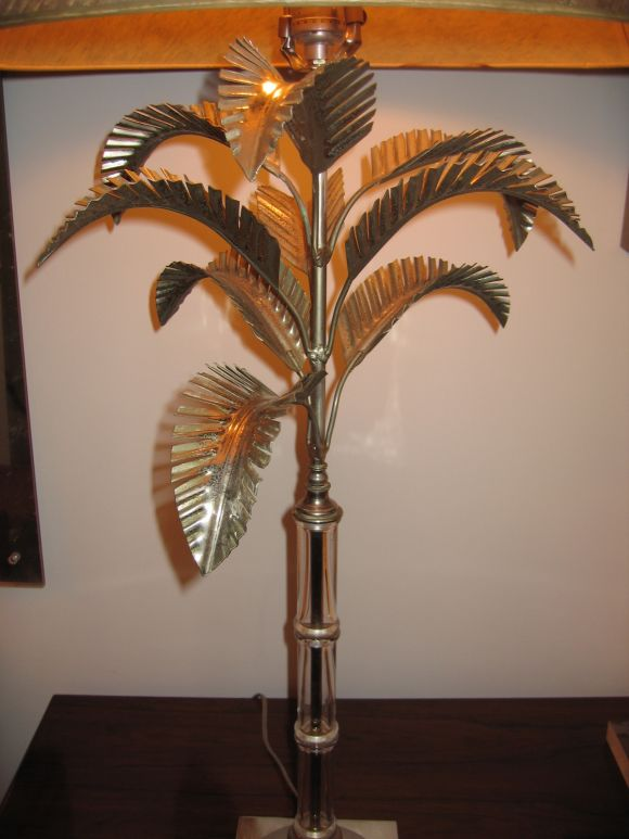 palm tree table lamps photo - 8