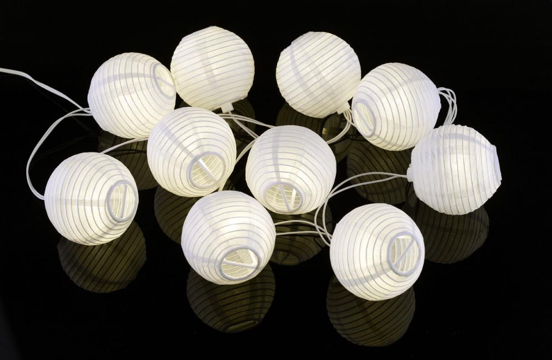 paper lantern lights outdoor photo - 1
