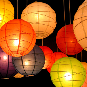 Good Paper Lantern Lights Outdoor Photo   10
