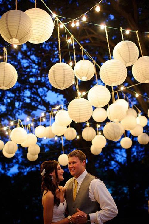 paper lantern lights outdoor photo - 5