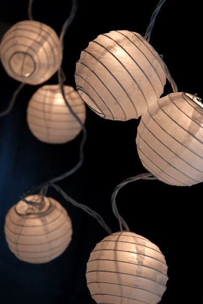 paper lantern lights outdoor photo - 7