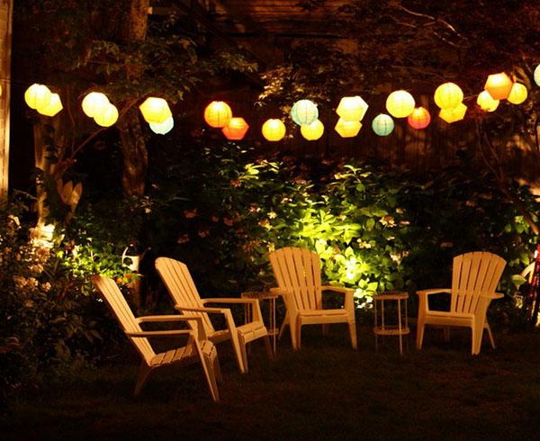 paper lantern lights outdoor photo - 8