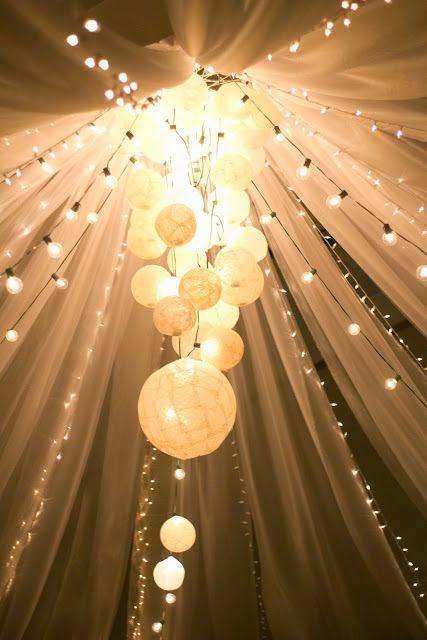 paper lantern lights outdoor photo - 9