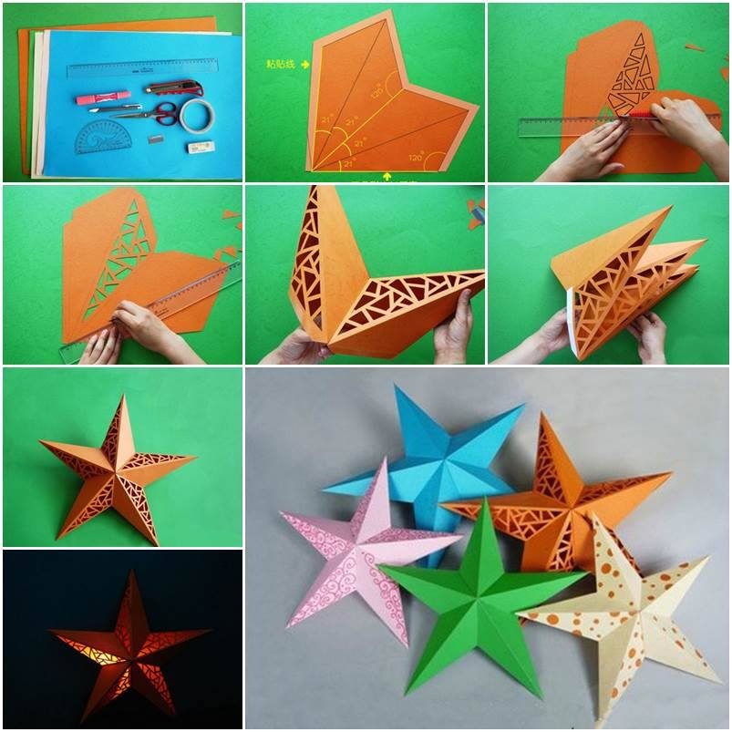 Paper Star Lamp 16 Ways To Give