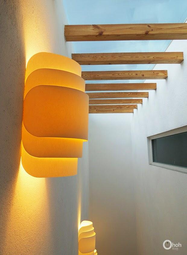 paper wall lights photo - 4