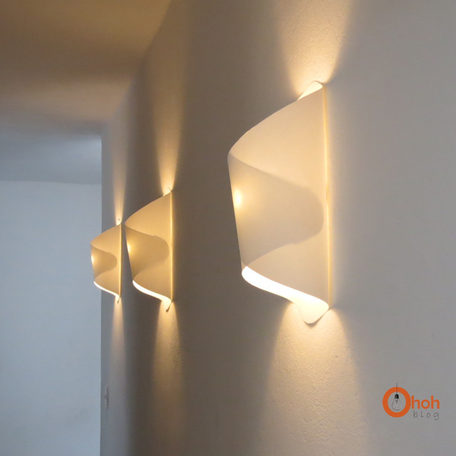 paper wall lights photo - 6