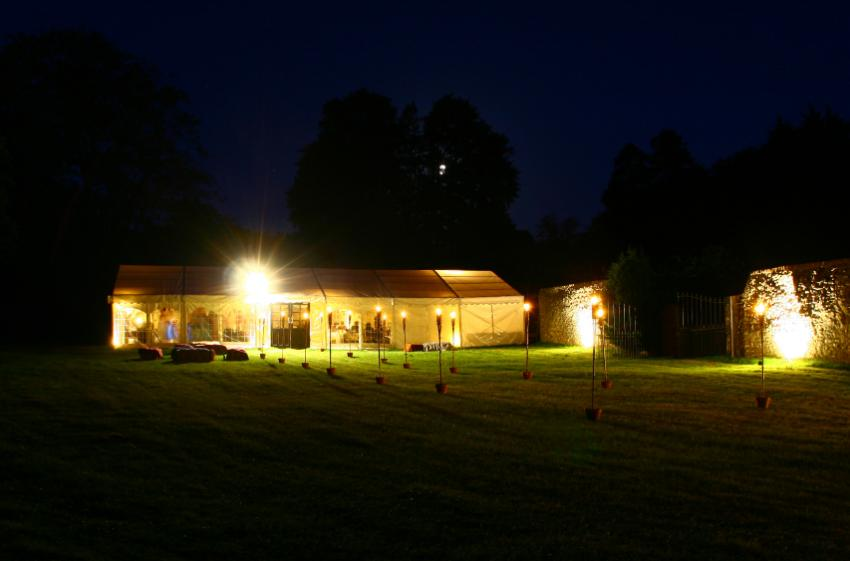 party outdoor lights photo - 5