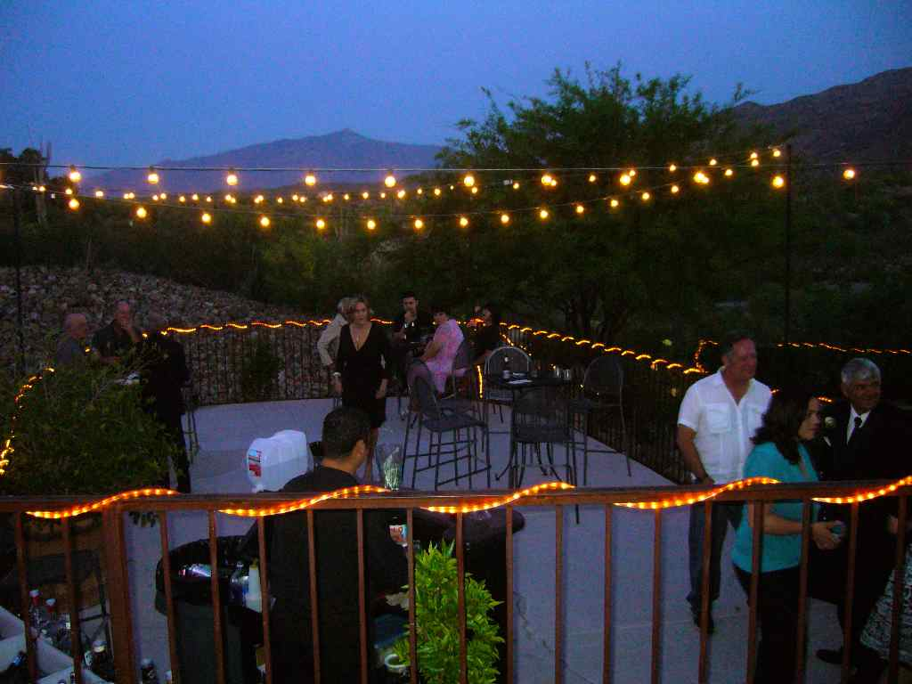 party outdoor lights photo - 7