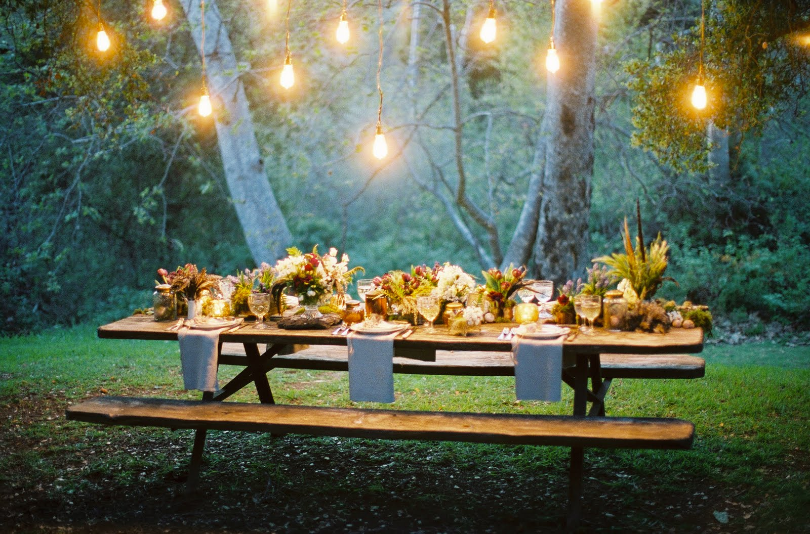 party outdoor lights photo - 8