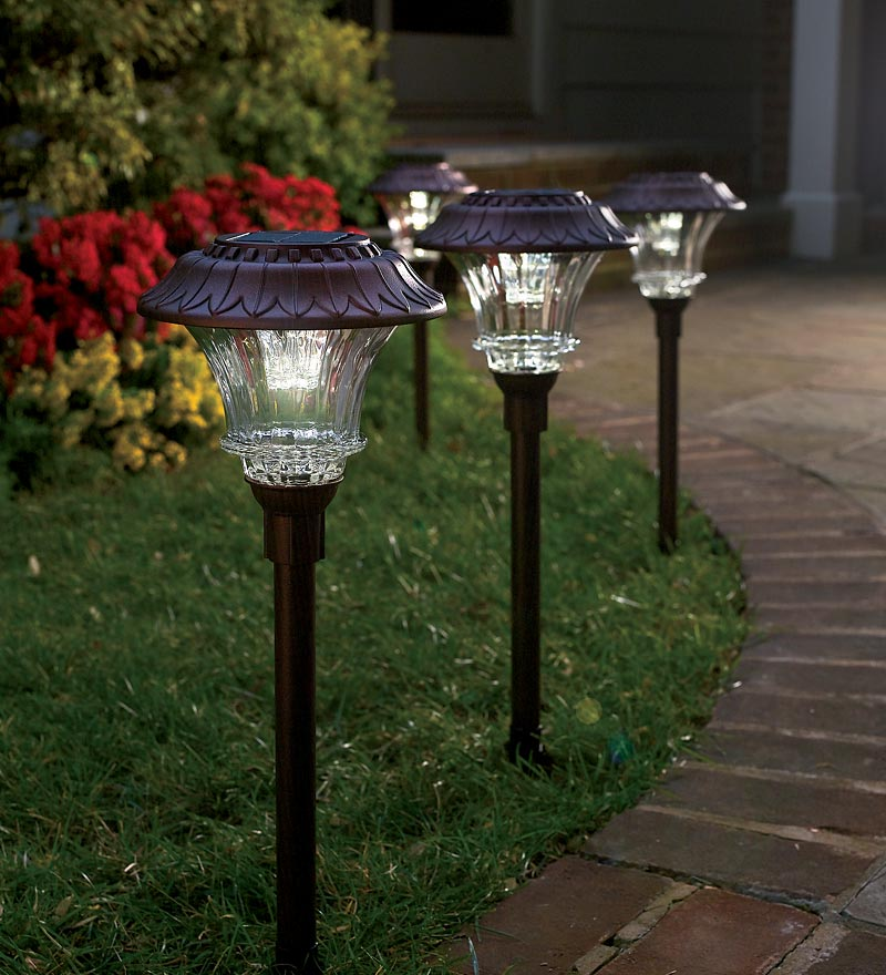 pathway solar lights outdoor photo - 2
