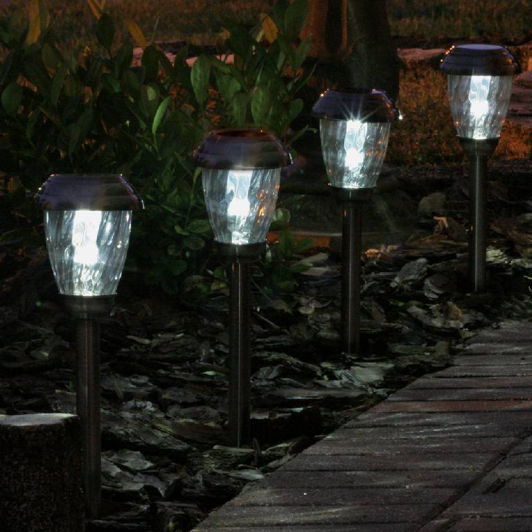 pathway solar lights outdoor photo - 4