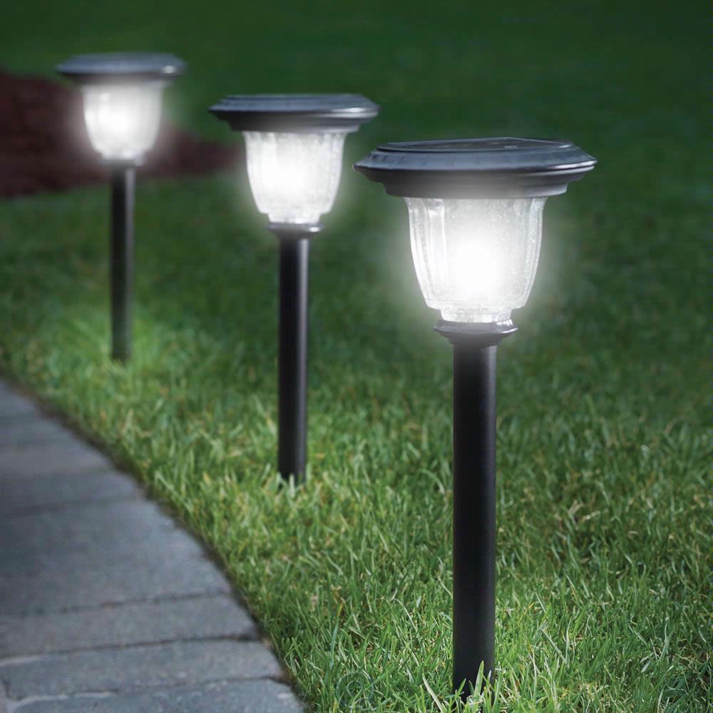 pathway solar lights outdoor photo - 8