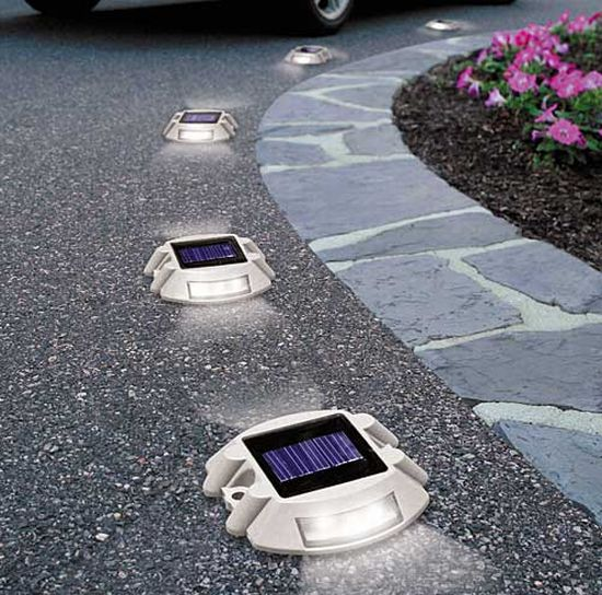 pathway solar lights outdoor photo - 9