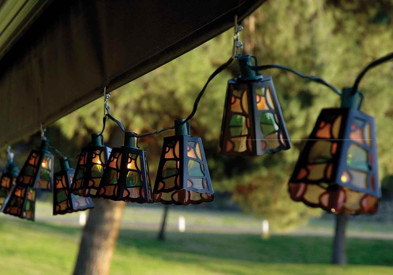 patio outdoor lights photo - 3