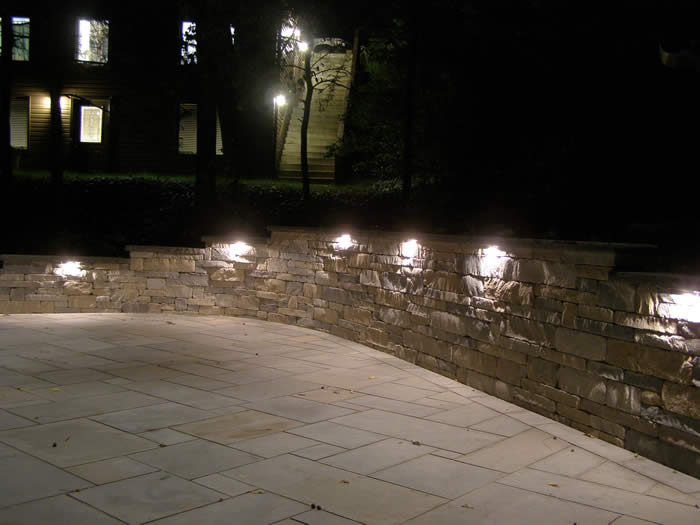 patio wall lights photo - 4