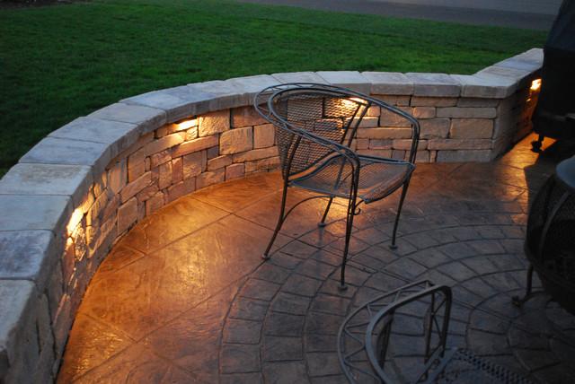 patio wall lights photo - 8