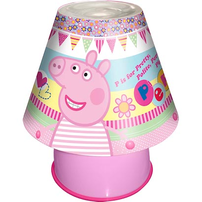 peppa pig lamp photo - 2