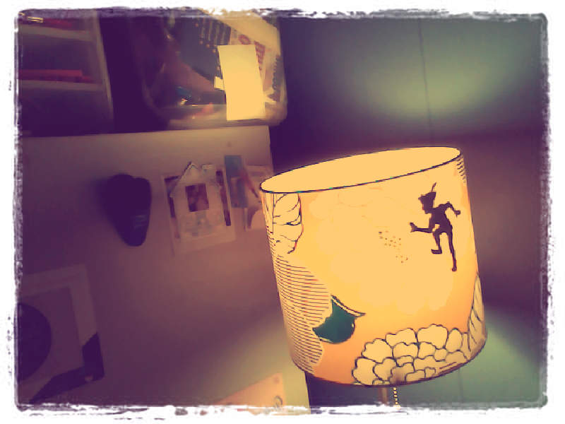 peter pan lamp photo - 6