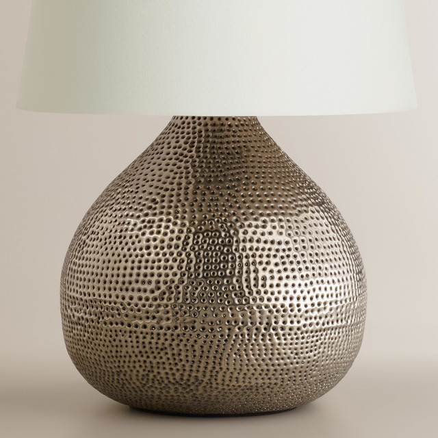 Metal Table Lamps Uk: pewter table lamps photo - 4,Lighting
