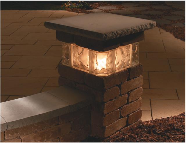 pillar lights outdoor photo - 1