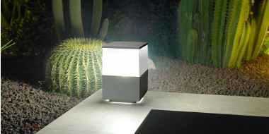 pillar lights outdoor photo - 5