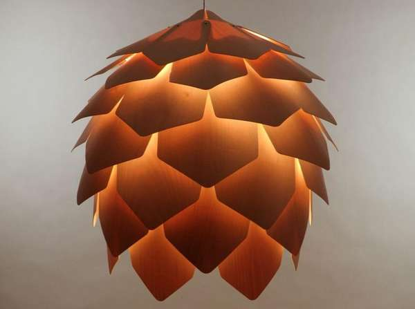 pine cone lamps photo - 1