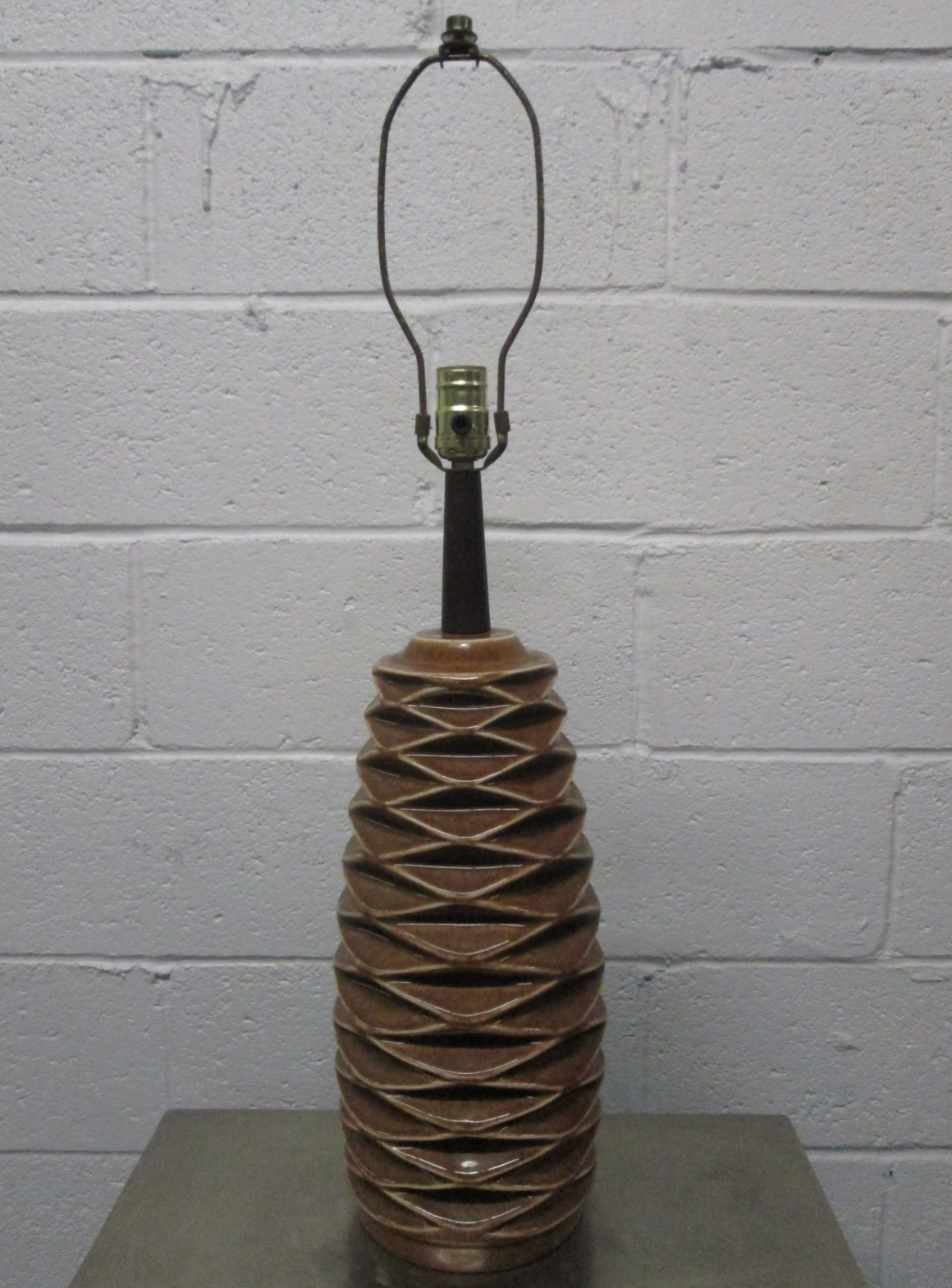 pine cone lamps photo - 5