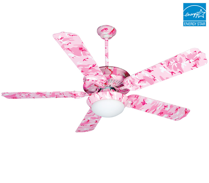pink ceiling fans photo - 10