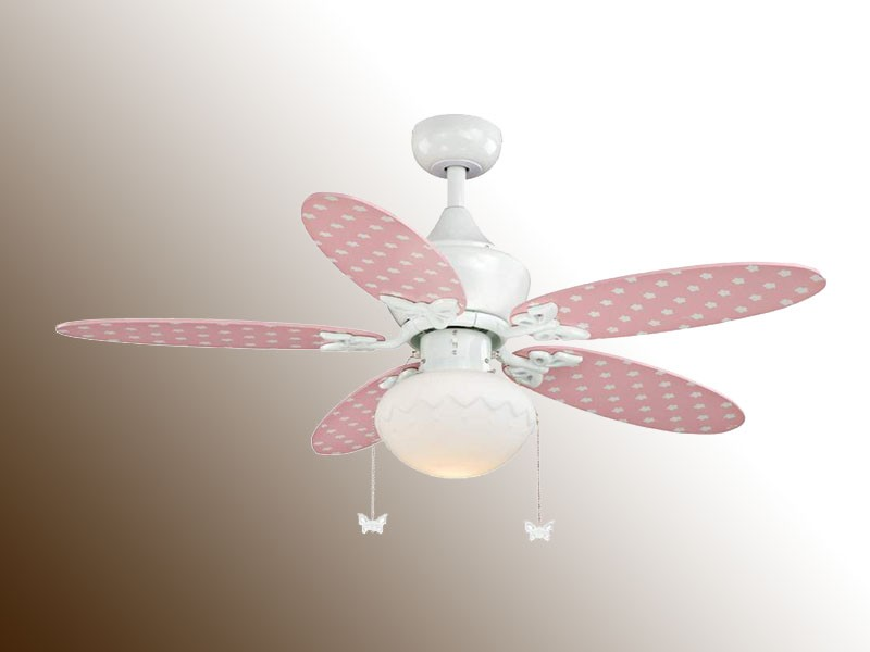 pink ceiling fans photo - 3