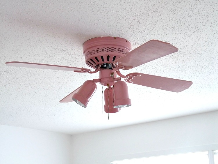 pink ceiling fans photo - 4