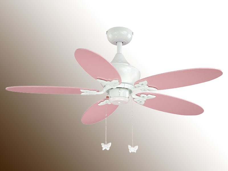 pink ceiling fans photo - 5