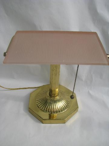 pink desk lamp photo - 6