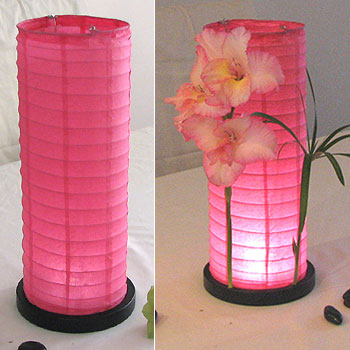 pink lamps photo - 5