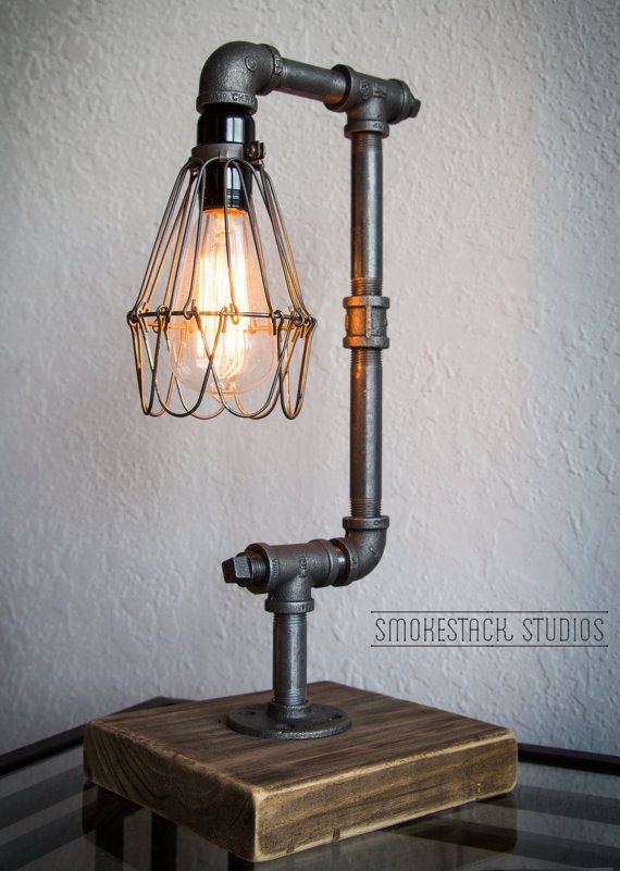 pipe lamp photo - 1