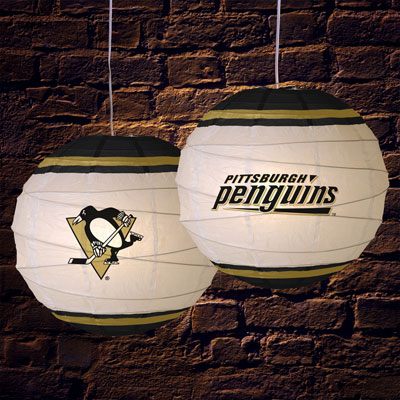 pittsburgh penguins lamp photo - 2