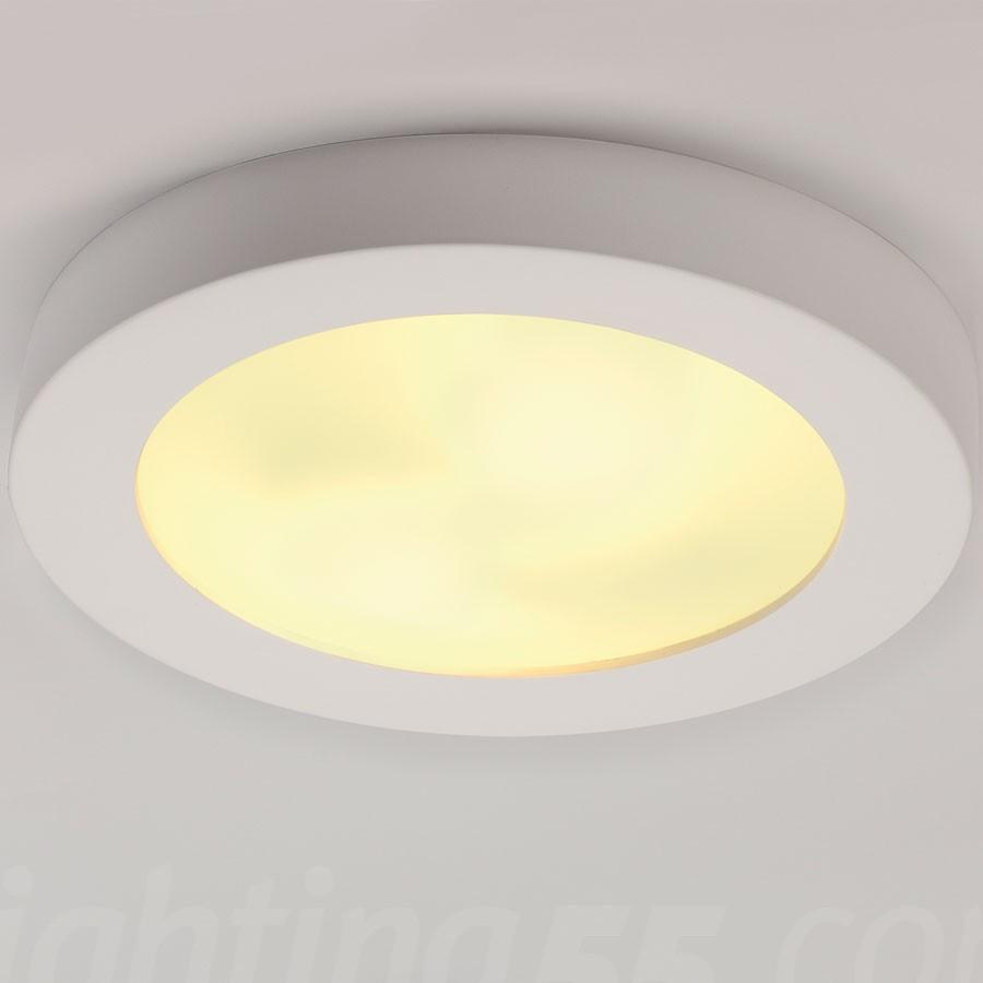 plaster ceiling light photo - 1