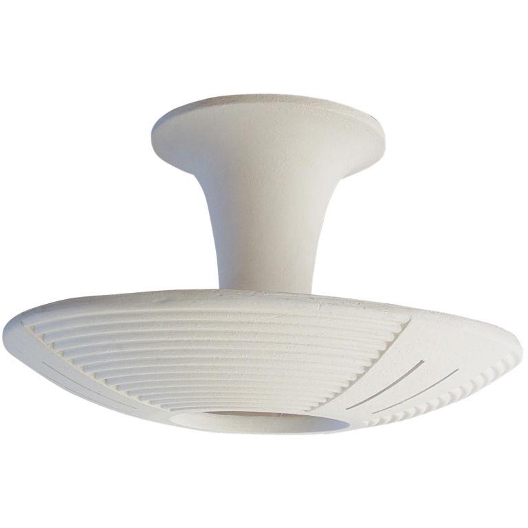 plaster ceiling light photo - 8
