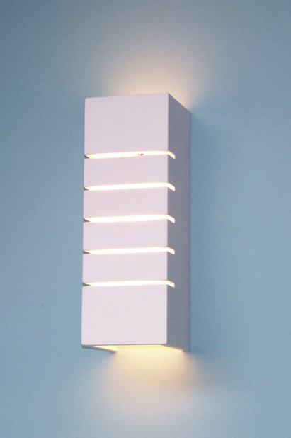 plaster wall lights photo - 8