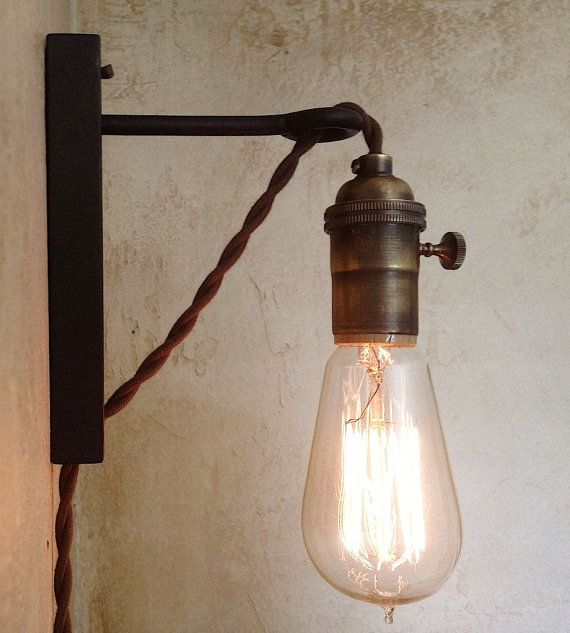 plug in wall lights photo - 3