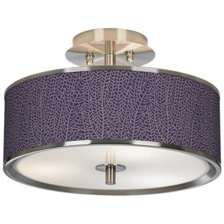 plum ceiling light photo - 2