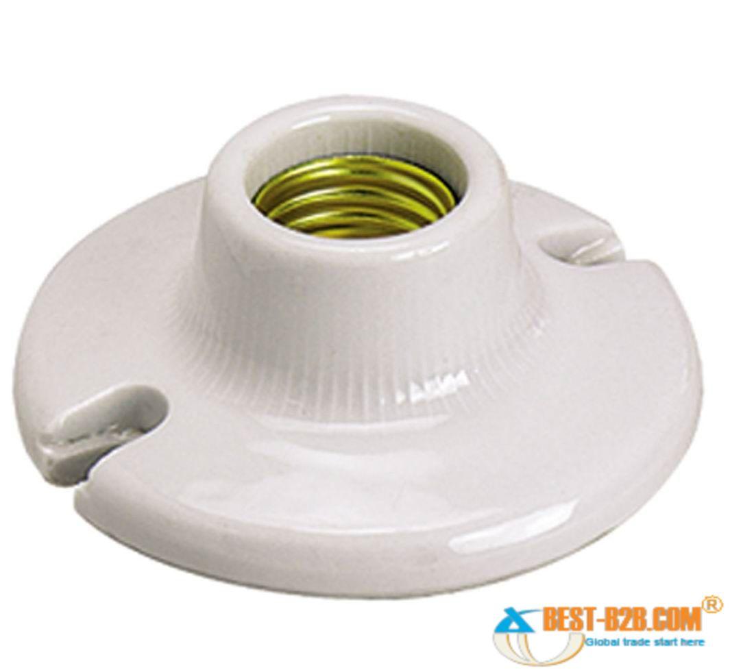 porcelain lamp holder photo - 2