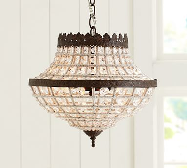 pottery barn ceiling lights photo - 7