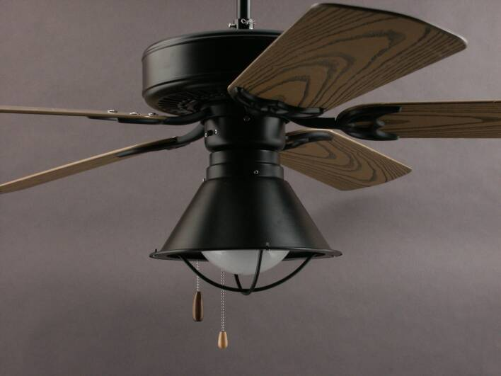 primitive ceiling fans photo - 1