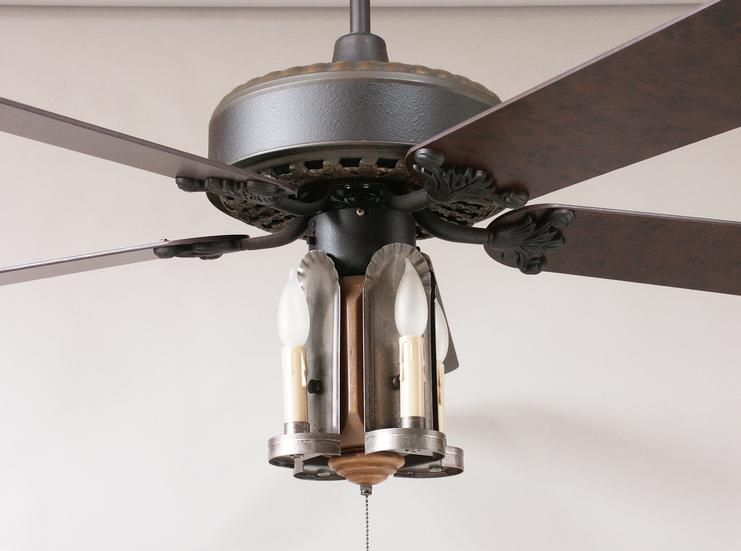 primitive ceiling fans photo - 10