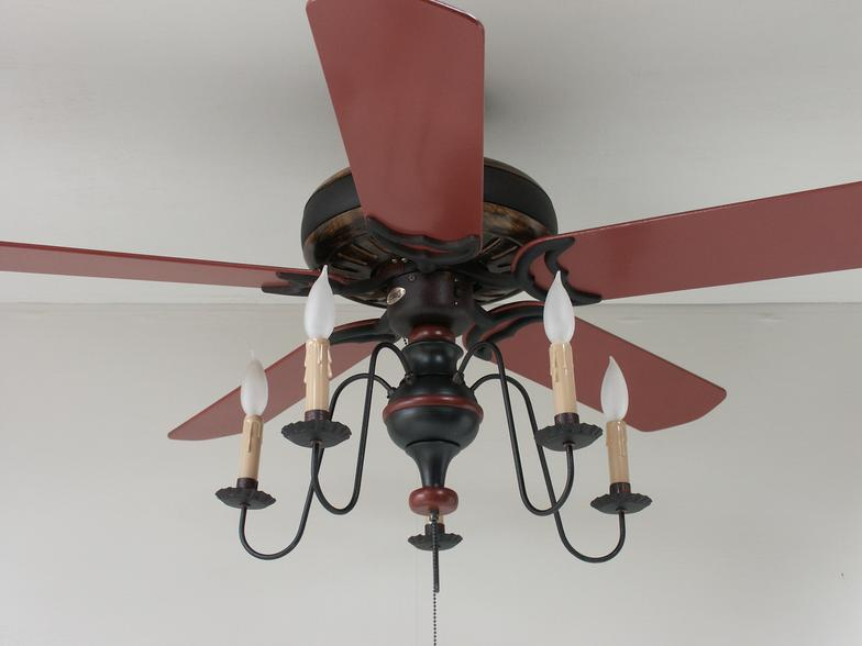 primitive ceiling fans photo - 3