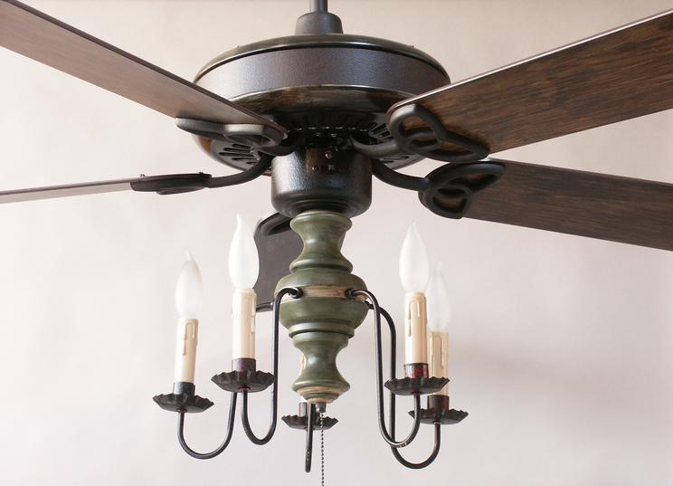 primitive ceiling fans photo - 4