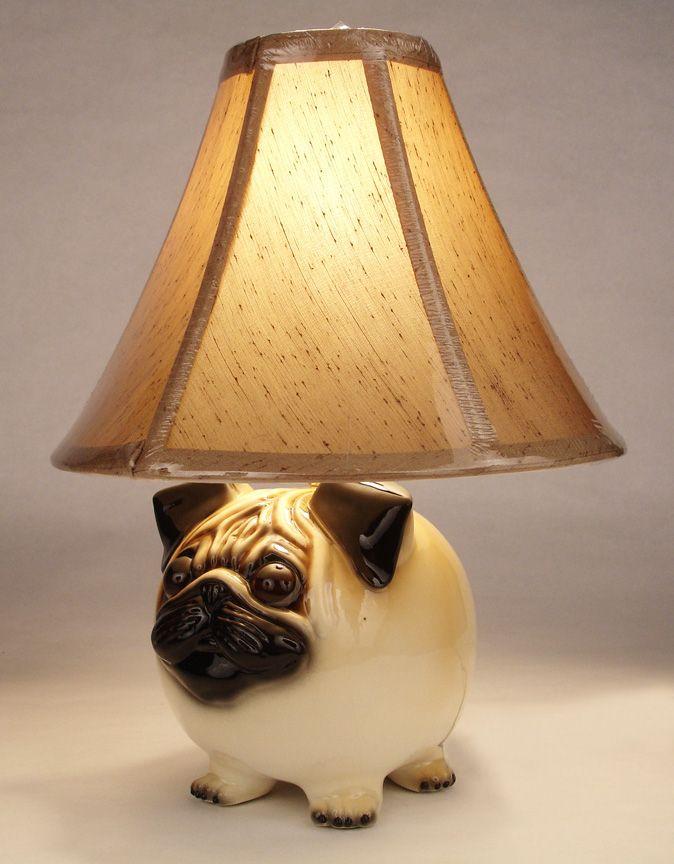 pug lamp photo - 1